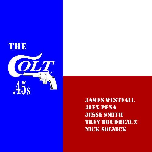 Westfall_Colt45_CD Cover